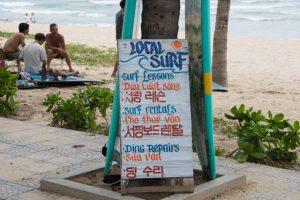the trip - local surf Da Nang