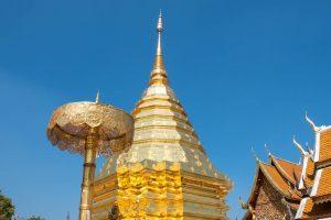 Estupa Templo Doi Suthep - Chiang Mai