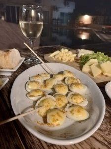 tabla de quesos y vino - la piscine Chiang Mai