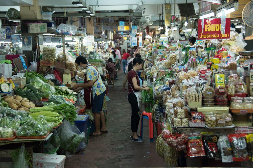 mercados chiang mai Tailandia