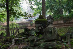 jardin de budas templo en chiang mai